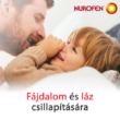 Nurofen 125 mg végbélkúp gyerekeknek fájdalomra és lázra
