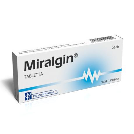 Miralgin tabletta 20x