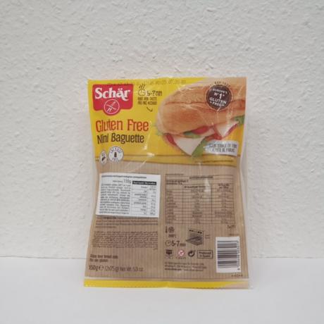 Schar gluténmentes Mini Bagett DUO 150g