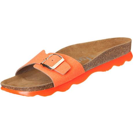 Futti Gala Neon Orange Glitter női papucs