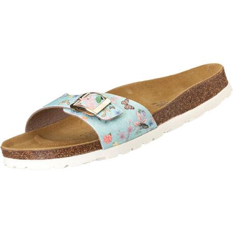 Futti Mara Blue Flowers Glitter női papucs