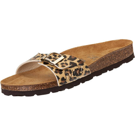 Futti Mara Leopard női papucs