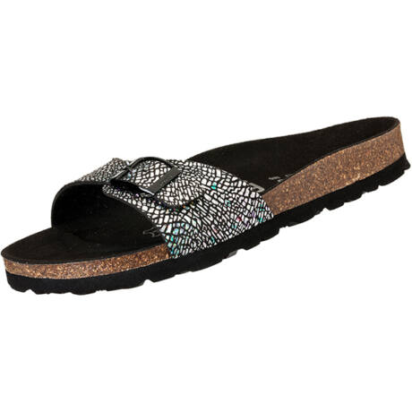 Futti Mara Mosaic Black női papucs