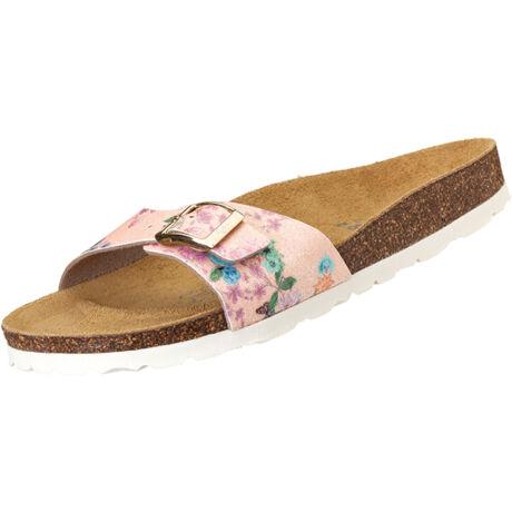 Futti Mara Pink Flowers Glitter női papucs