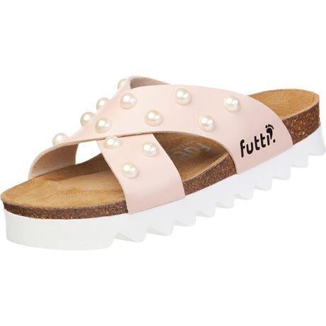 Futti Rene Nude Pearls női papucs