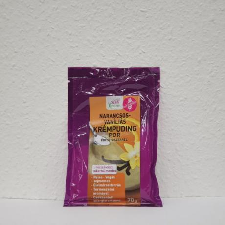 Szafi Reform narancs-vaníliás pudingpor 70g