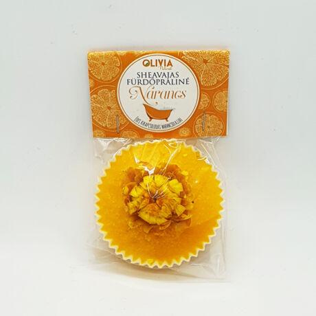 Olivia Natural Kakaóvajas Fürdőpraliné Narancs (30g)