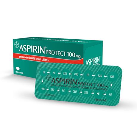 Aspirin Protect 100 mg gyomornedv ellená.bev.tabl. (98x)