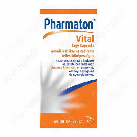Pharmaton Vital lágy kapszula 60x