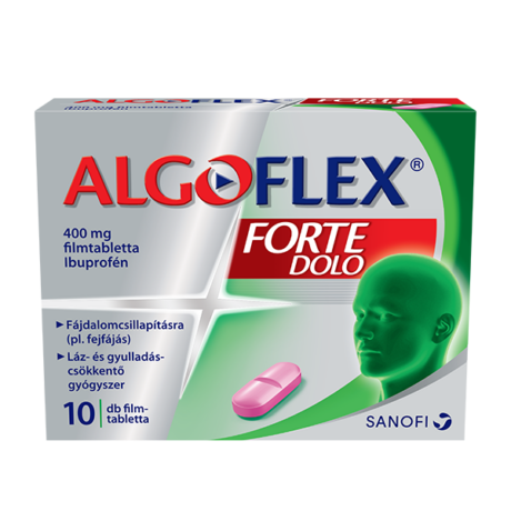 Algoflex Forte DOLO 400mg filmtabletta 10x