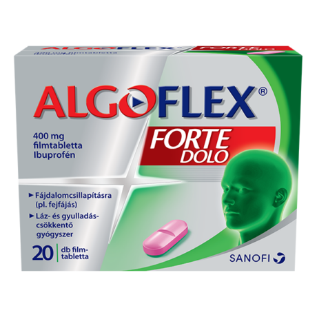 Algoflex Forte DOLO 400mg filmtabletta 20x