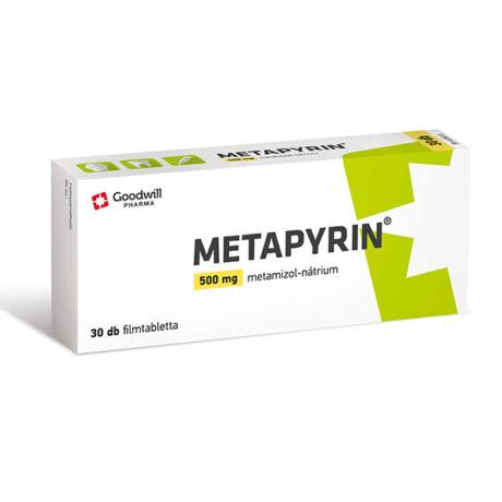 Metapyrin 500 mg filmtabletta 30x