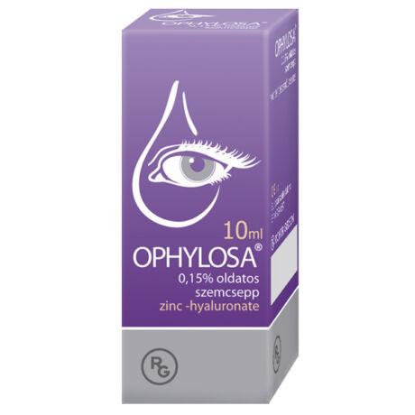 Ophylosa 0,15% oldatos szemcsepp (10ml)