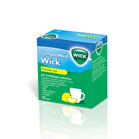 SymptoMed Wick Citrom ízű por belsőleges oldathoz 10x