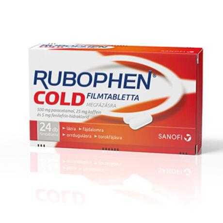 Rubophen Cold filmtabletta 24x