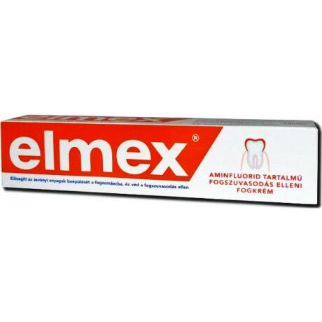 Elmex fogszuvasodás elleni fogkrém RED 75 ml