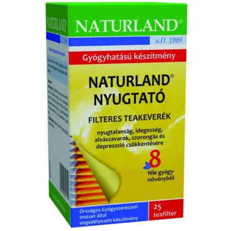 NATURLAND Nyugtató tea filteres 25x1,5 g