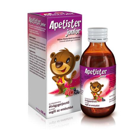 Apetister Junior étrend-kiegészítő oldat