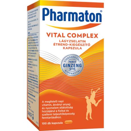 Pharmaton Vital Complex kapszula 100x
