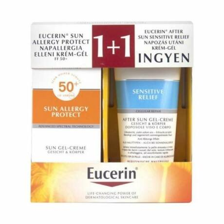 Eucerin Sun Allergy Protect csomag (2x150ml)