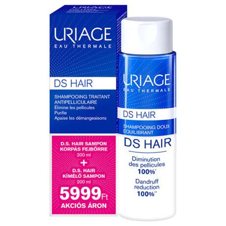 Uriage D.S. Hair sampon csomag
