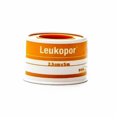 Leukopor 5mx2,5cm (1x)