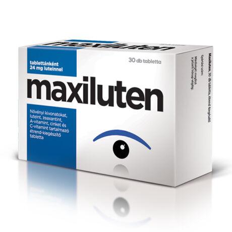 Maxiluten étrend-kiegészítő tabletta