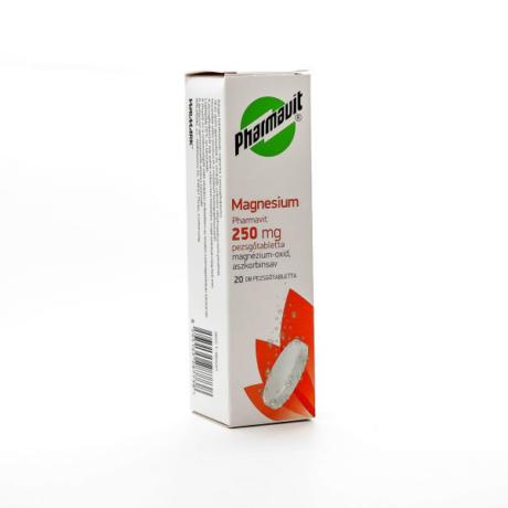 Magnesium Pharmavit pezsgőtabletta 250mg 20x