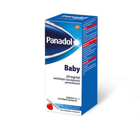 Panadol Baby 24 mg/ml belsőleges szuszpenzió 100ml