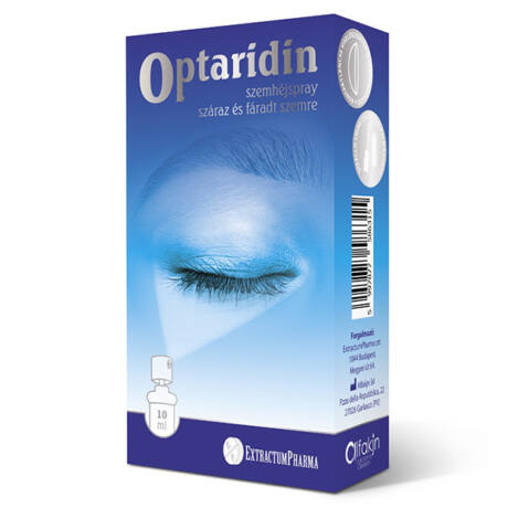 Optaridin szemhéj spray száraz, fáradt szemre 10ml