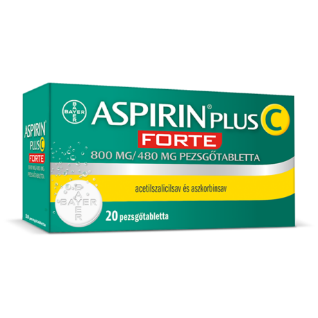 Aspirin Plus C FORTE pezsgőtabletta 20x