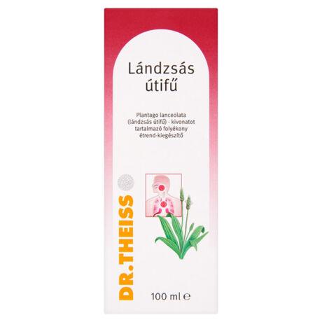 Dr.Theiss Plantago Lanceolata Lándzsás utifű folyadék (100ml)