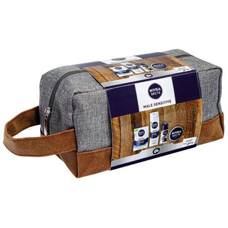 Nivea Men Male Sensitiv csomag táskában