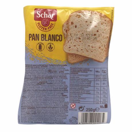 Schar gluténmentes Pan Blanco fehér kenyér 250g