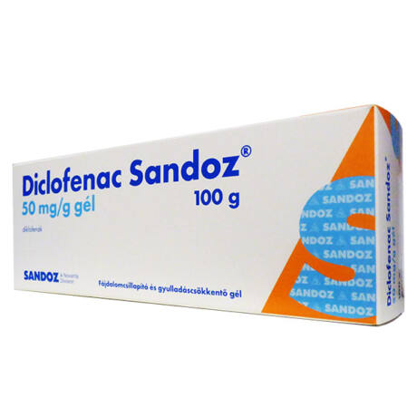Diclofenac Sandoz  50mg/g gél 100g