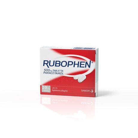 Rubophen 500 mg tabletta 20x