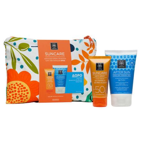 Apivita Sun arckrém pigmentfoltok ellen csomag