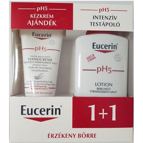 Eucerin PH5 intenzív testápoló+kézkrém csomag 200ml+75ml