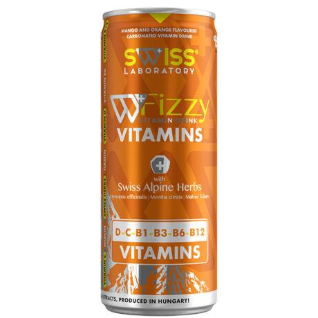 Swiss Vitamins C és D vitamin ital brazil mangó 250ml