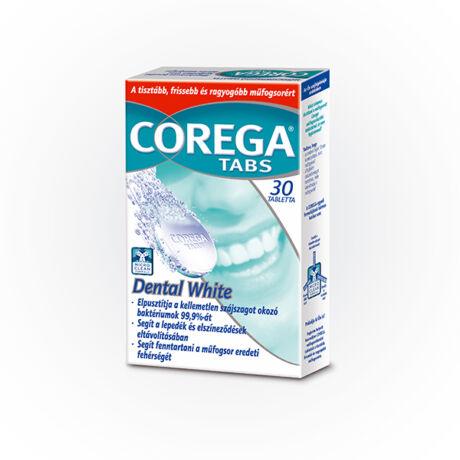 Corega Tabs Dental Weiss tabletta 30x