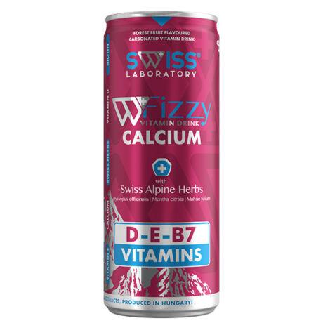 Swiss Vitamins Kalcium D3 ital erdei málna 250ml