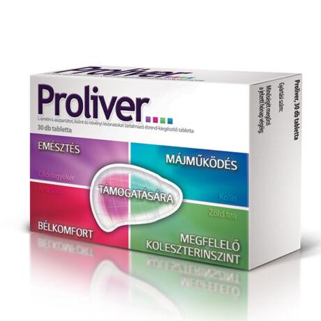 Proliver étrend-kiegészítő tabletta