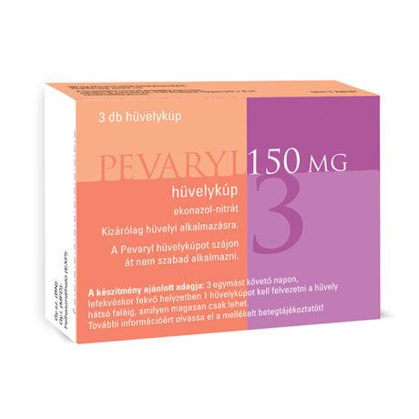 Pevaryl Lady 150 mg hüvelykúp 3x