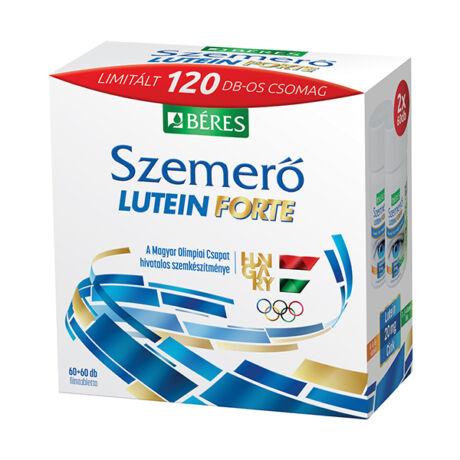 Béres Szemerő Lutein forte filmtabletta Olimpiai csomag 2x60x
