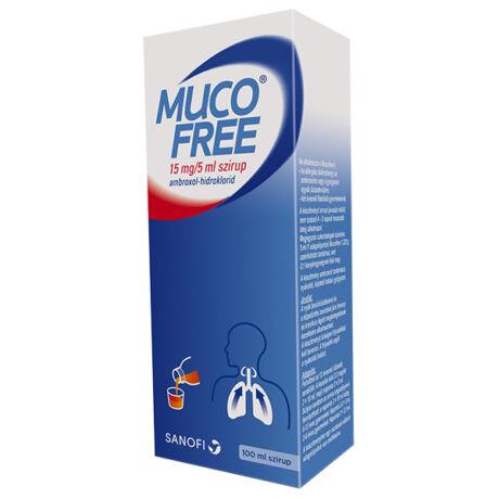 Mucofree 15 mg/5 ml szirup 100ml