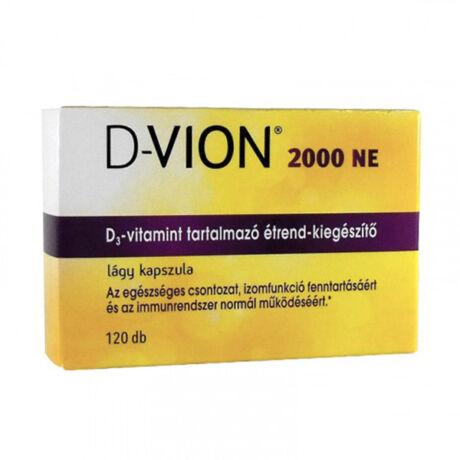 D-Vion D3 2000NE kapszula 120x