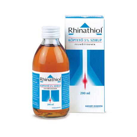 Rhinathiol köptető 50 mg/ml szirup felnőtteknek 200ml