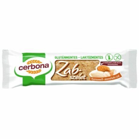 Cerbona gluténmentes karamellás-mandulás zabszelet (40g)