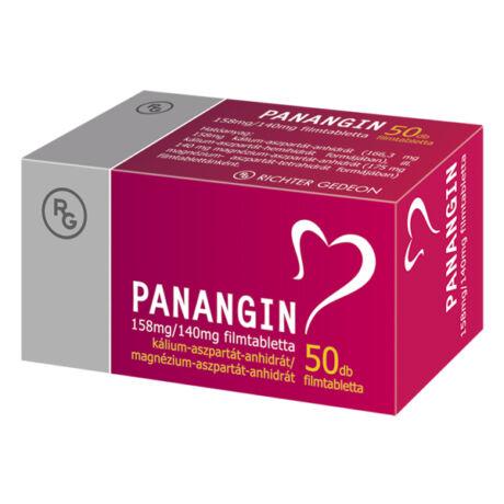 Panangin 158 mg/140 mg filmtabletta 50x