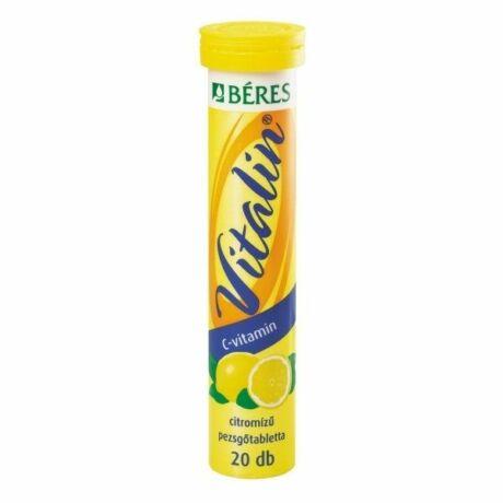 Béres Vitalin C-vitamin pezsgőtabletta citrom ízű (20x)